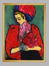 Pfingstrosen von Alexey Jawlensky Blauer Reiter Expressionismus LW A1 26
