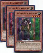 3 X YU-GI-OH SYLVAN BLADEFENDER LIMITED ULTRA RARE NM/MINT LVAL-ENSP1
