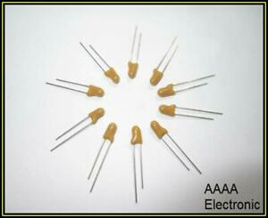 Tantal Tantalum Kondensatoren Capacitors Tropfenform 10µF 10V 20% 1000 Stück