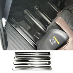 For infiniti QX60 JX35 2013-2020 Black titanium Seat track Anti-scratch strip
