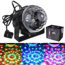 7W RGB Stage Light Par Voice Control Lighting Laser Projector Party Club DJ Beam