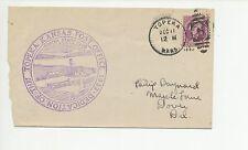 US Post Office Dedication Cover 1933  Topeka Kansas