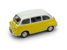 Fiat 600 D Multipla 1960 Yellow White BRUMM 1:43 R333-10