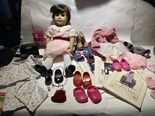 American Girl Samantha Doll Clothes Lot Accessories Books Typewriter Ballet EUC