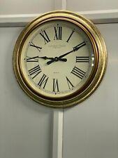 Large Gold Leaf Finish Wall Clock - 55cm - 24220