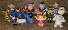 Rudolph the Red Nosed Reindeer Figures Misfit Toys Santa Sam Cornelius Lot of 14
