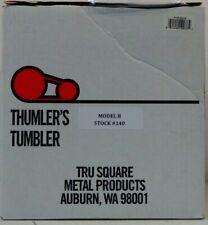 Thumler's Tumbler Model B Heavy Duty 15# Rock Tumbler Thu140