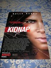 HALLE BERRY KIDNAP AUTOGRAPHED SIGNED MOVIE POSTER W/COA