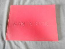 "Vintage 1968 Baltimore Museum of Art ""Man In Sport"" Photography Exhibit Book"