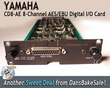 Yamaha CD8-AE-S 8 Channel AES/EBU Digital I/O Card for Yamaha 02R