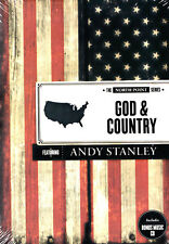 NEW Sealed Christian DVD! God & Country - Andy Stanley (North Point Series)