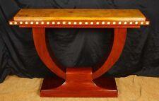 1920s ART DECO U Console Tavolo Hall tabelle Interiors Furniture