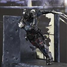 8'' Arkham Knight Play Arts PA Kai Batman Series Action Figure Statue with Scene