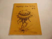 Against the Sith #9 1980 Star Wars Fanzine Fan Fiction w/ questions magazine