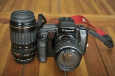 CANON 28-105 EFand 100-300 EF USM lenses and canon EOS 5  NICE
