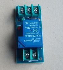 DC 12V 30A relay control module optocoupler isolation high-power input trigger