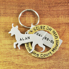 Personalized Jack Russell Terrier Tag Custom Dog Tag, Engraved Name Hand Stamped