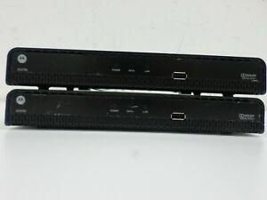 Lot of 2 Motorola DCX700 Dolby Digital Plus Set Top Box