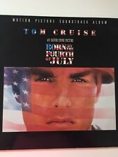 TOM CRUISE-BORN ON THE 4th OF JULY SOUNDTRACK ALBUM LP Vinyl
