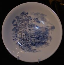 Blue & White Enoch Wedgwood & Co Countryside Bowl