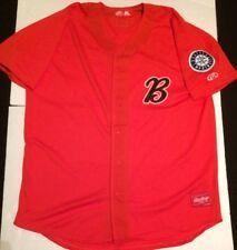 Minor League Baseball Bakersfield Blaze Game Issued Jersey XXL Seattle Mariners