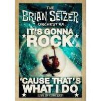 "THE BRIAN SETZER ORCHESTRA ""ITS GONNA ROCK"" DVD NEU"