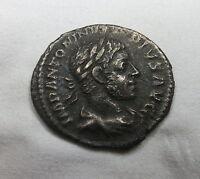 Rome Denarius ELAGABALUS SACERDOS Fine A#10
