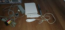 Nintendo Wii console with controller and lead
