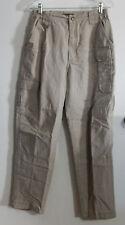 Women's 5.11 Tactical Pants Cotton Canvas Sz. 4  Style 64355 Khaki VG