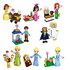 Princess Girls Castle and Accessory Scene Building Blocks Figures Bricks Toys