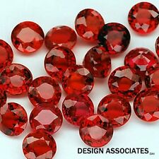 RUBY 3.50 MM ROUND CUT NATURAL GEMSTONE  AAA  1 PC SET