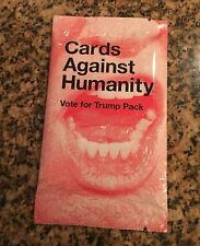 Cards Against Humanity Vote For Donald Trump Expansion Pack Sealed Unopened RARE