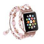 Pearl Beads Bracelet Watch Band Strap For 42mm 38mm Apple Watch Series 1 2 3