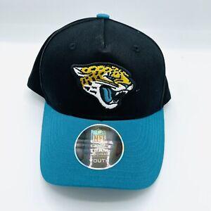 Official NFL Team Jacksonville Jaguars Youth Snapback Hat Adjustable Black Teal