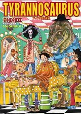 ONE PIECE 「COLOR WALK 7 ~TYRANNOSAURUS~」 EIICHIRO ODA ARTBOOK