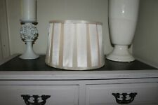 Faux Silk Champagne Gold Large Drum Lamp Shade,Light Shade,Pleated,Pleats