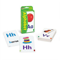 Kids Alphabet ABC Flash Cards - 52 Cards & 4 Activity Cards - Fun Learning