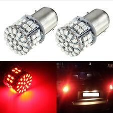 BAY15D 1157 50SMD LED Tail Brake LED Light Bulbs Globes RED