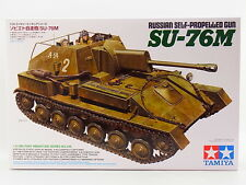 LOT 16734   Tamiya 35348 Russian Self-propelled Gun SU-76M 1:35 Bausatz NEU OVP