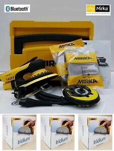 Mirka Action Deros Ponceuse 125/150 MM + Boîtier+ 3x100 Iridium Disques