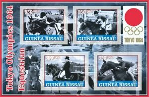 Stamps Olympic Games 1964  Equestrian