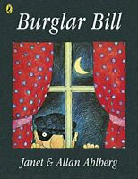 Burglar Bill (Picture Puffin) by Allan Ahlberg, NEW Book, FREE & FAST Delivery,