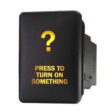 Push switch 9B93O 12V Toyota PRESS TO TURN ON SOMETHING LED amber RAV4