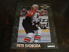 Phila. Flyers--Petr Svoboda--Souvenir Game Day Photo--Limited /4000---1996--VHTF