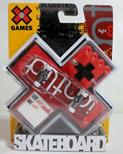 MATTEL 2008 X GAMES FINGER BOARD FINGERBOARD SKATEBOARD EUROPEAN NEW SEALED E