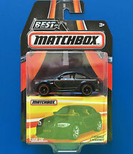 2016 BEST OF MATCHBOX - BLACK 2013 BMW 1M LUXURY SPORTS COUPE mint on card!