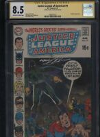 Justice League of America #79 CGC 8.5 SS Neal Adams 1970