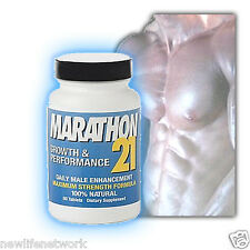 Marathon 21 Testosterone Booster 3X Stronger Than Nugenix FREE SHIPING