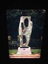 """Barbara Hepworth """"Rock Form 1946"""" Modern Sculpture 35mm Art Slide"""