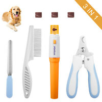 Pet Nail Grooming Set Contain pet Nail Clippers &Pet Nail Grinder for Dog &Cat